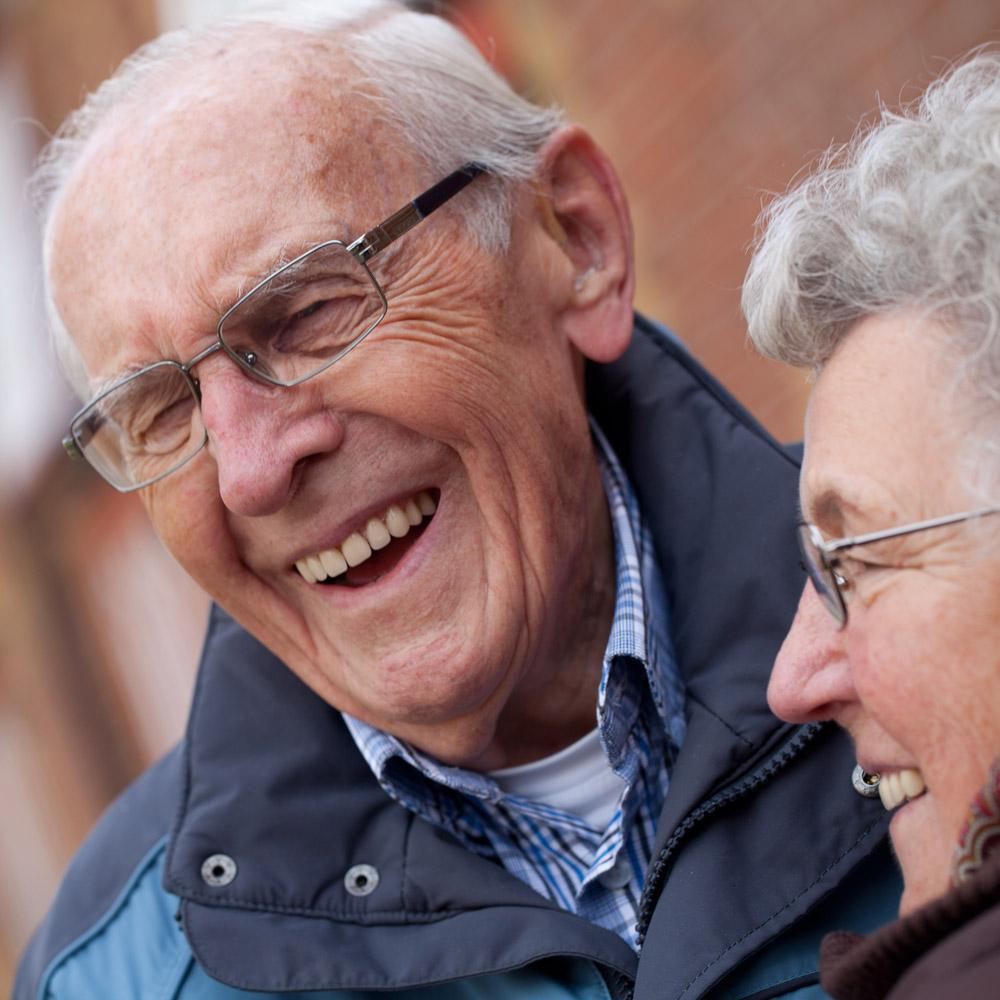 image Ouder echtpaar maar nog steeds actief